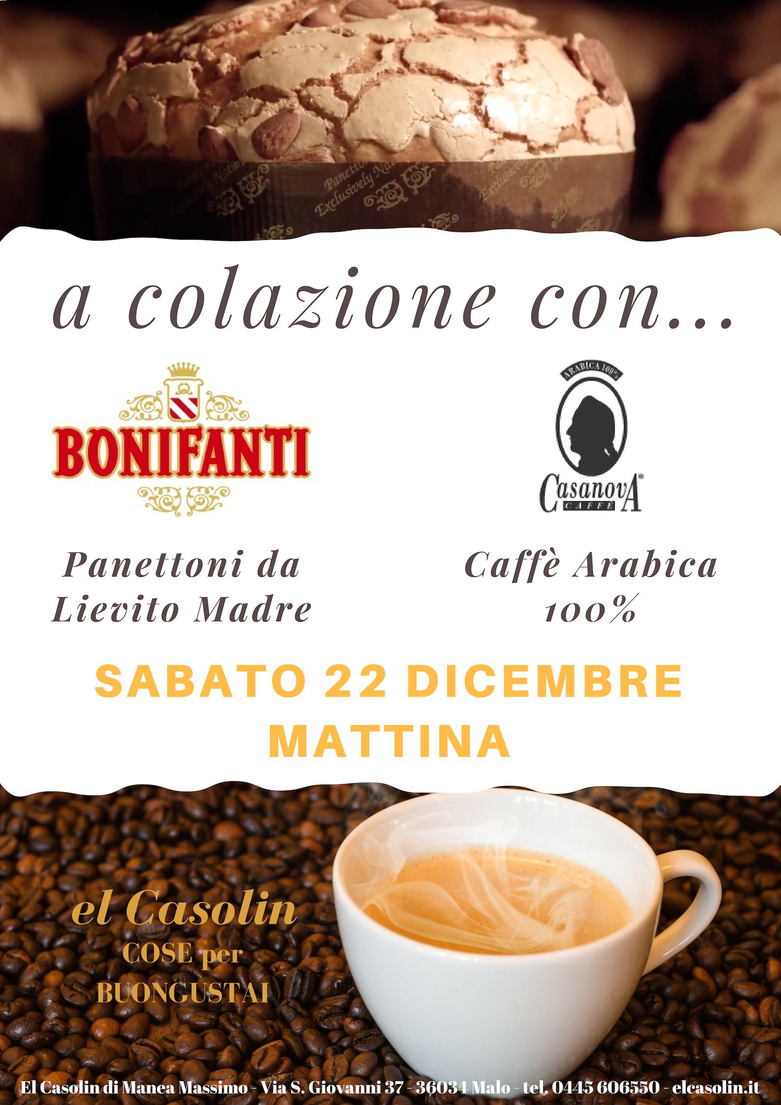 A colazione da El Casolin con Panettoni Bonifanti e Caffè Casanova